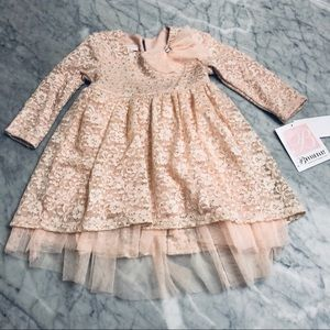 🌸 Bonnie Baby Lace Dress 24mo